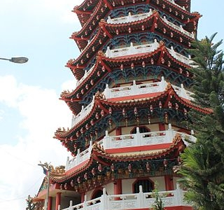 Pagoda Of  Tua  Pek  Kong  Temple