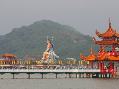 Pagode  Lotus  Lake  Kaohsiung Amk