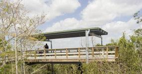 Pahayokee Overlook Platform