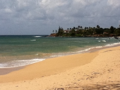 Paia  Beach Looking East