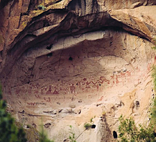Painted Cave, Ancestral Pueblo Pictographs