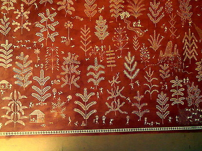Painted Prayers Warli Paintings