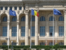 Palace Of The Parliament - Bucharest - Close-Up
