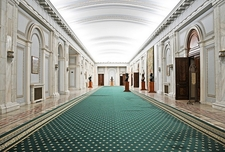 Palace Of The Parliament - Bucharest - Marble Hallway