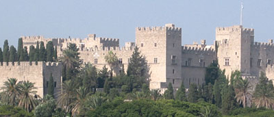 Palace Of The Grand Master In The City Of Rhodes
