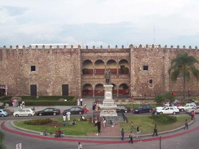 View Of The Palacio De Cortes