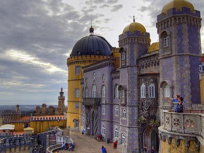 Palacio Nacional De Pena Em Sintra - Portugal
