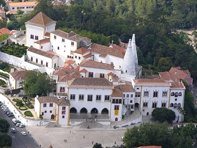 Palacio National De Sintra Overview - Portugal
