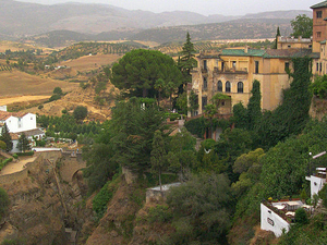 Palacio y jardines del Rey Moro