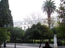 Presidential Mansion Of Athens