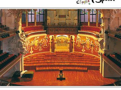 Palau De La Musica Catalana Auditorium