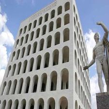 View Of Palazzo Della Civilta Italiana
