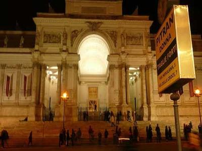 Palazzo Delle Esposizioni At Night
