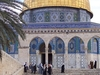 Palestinians Attending Prayers