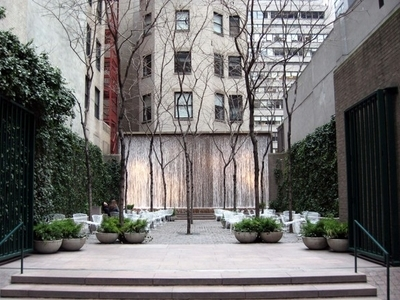 Paley Park In Winter