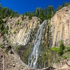 Palisades Falls In Hyalite Canyon MT