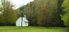 Palmer Chapel In Cataloochee Valley