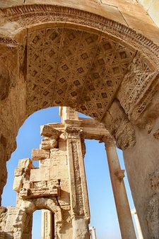Ancient Arches At Palmyra