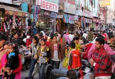 Paltan Bazaar Crowd