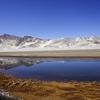 Pamir Range With Karakul Lake