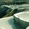 Pamukkale With Pools Of Water From Hot Springs