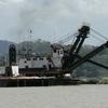 Panama Canal Bucket Dredge