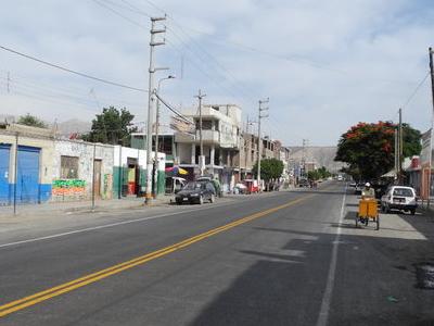 Panamerican Highway Passing Through Palpa