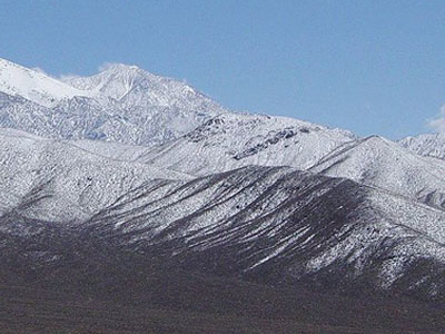 View Of Panamint Range