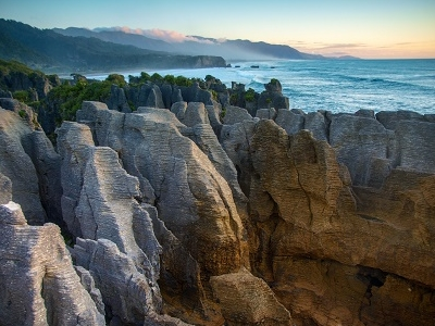 Pancake Rocks @ Punakaiki - West Coast NZ