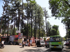 View Of Panchgani Town