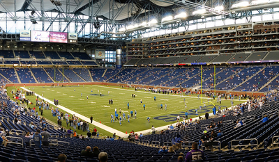 Interior View Of Ford Field