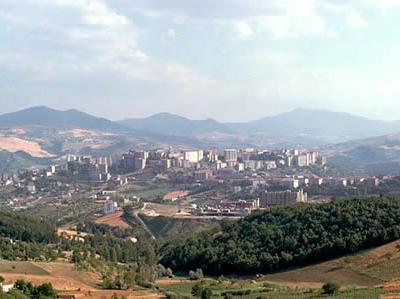 Panorama Of Potenza