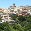 Panorama Of Genzano