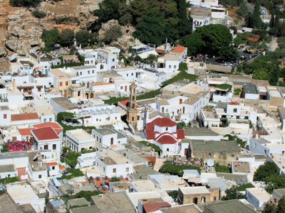 Panorama Of Lindos