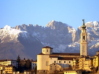 Panorama Of Belluno