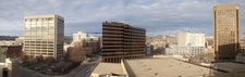 Panorama Of Downtown Boise In Early Spring From Downtown Highri