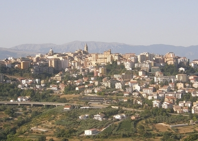 Panorama Of Chieti