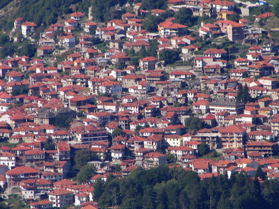 Panorama Of Metsovo