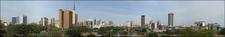 Panorama View Skyline Of Nairobi