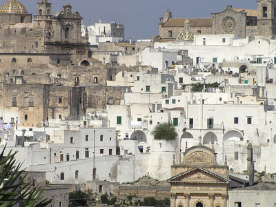 Panorama Of Ostuni