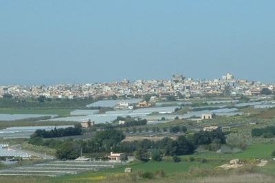 Panorama Of Pachino
