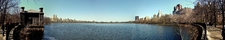 Panorama Of Jacqueline Kennedy Onassis Reservoir At Central Park