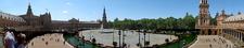 Panorama Of Plaza De España