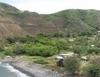 Panoramic View Of Kahakuloa Village And Bay.