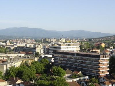 Panoramic View On Kruevac