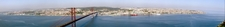 Panoramic View Of Lisbon From The Top Of Sanctuary Of Christ The