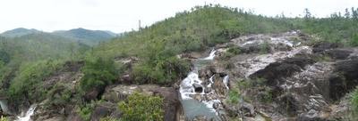 Panoramic View Of The Reserves Numerous Mountains