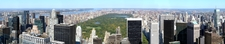 Panoramic View Of Central Park
