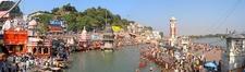 Panoramic View Of Har Ki Pauri