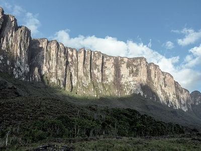 Panoramic View Of Roirama Tepui